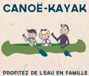 Location de canoë à Poitiers en famille