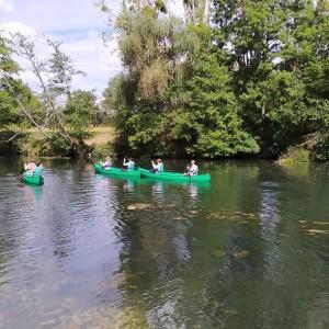 Depart canoë à la Bussière