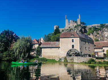 Canoë dans la Vienne (86) prêt de Poitiers